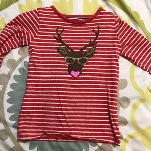 Mini Biden reindeer 2-3T long sleeved shirt